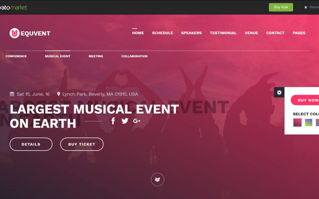 10 Best HTML5 Event Website Templates