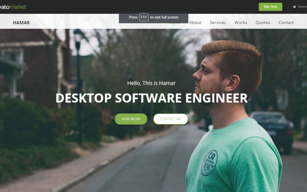 10 Best Personal Website HTML5 Templates