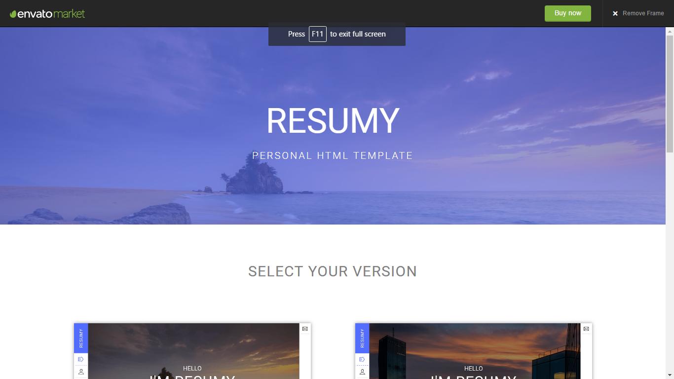 Taurus - Personal Blog HTML Template