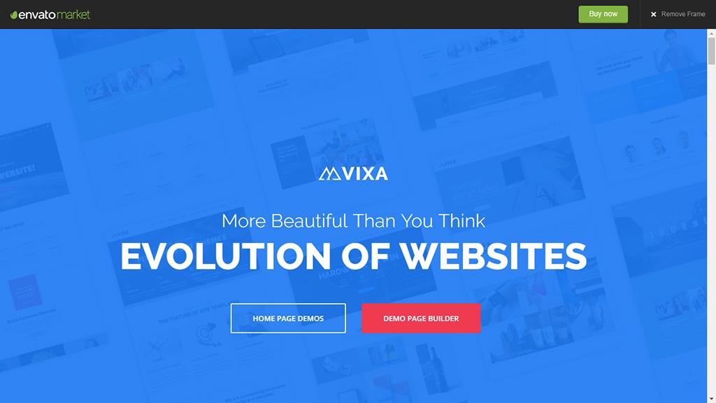 Vixa - Creative Multi-Purpose WordPress Theme