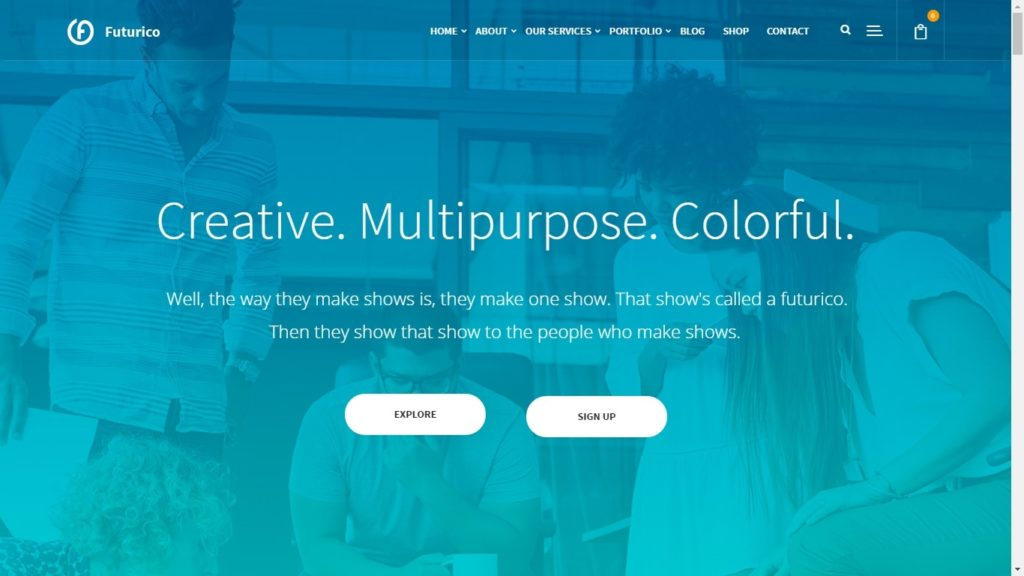 Futrico Corporate WordPress Theme