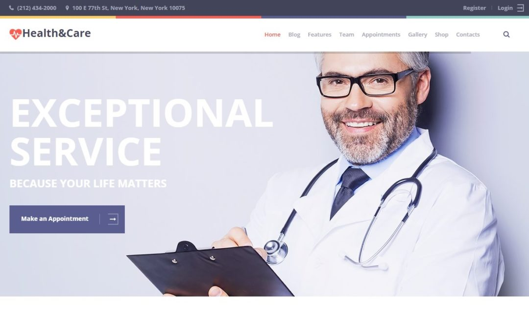 10 Best Medical WordPress Themes 2017