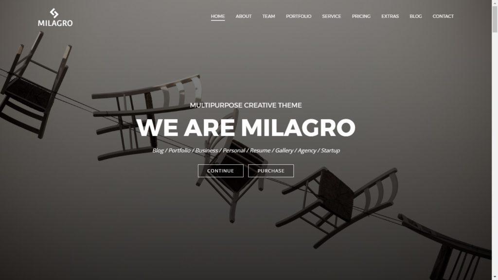 Milgaro Corporate WordPress Theme