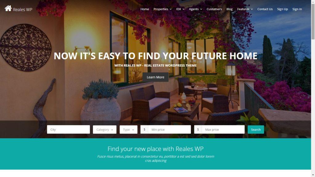 Reales Real Estate WordPress Theme