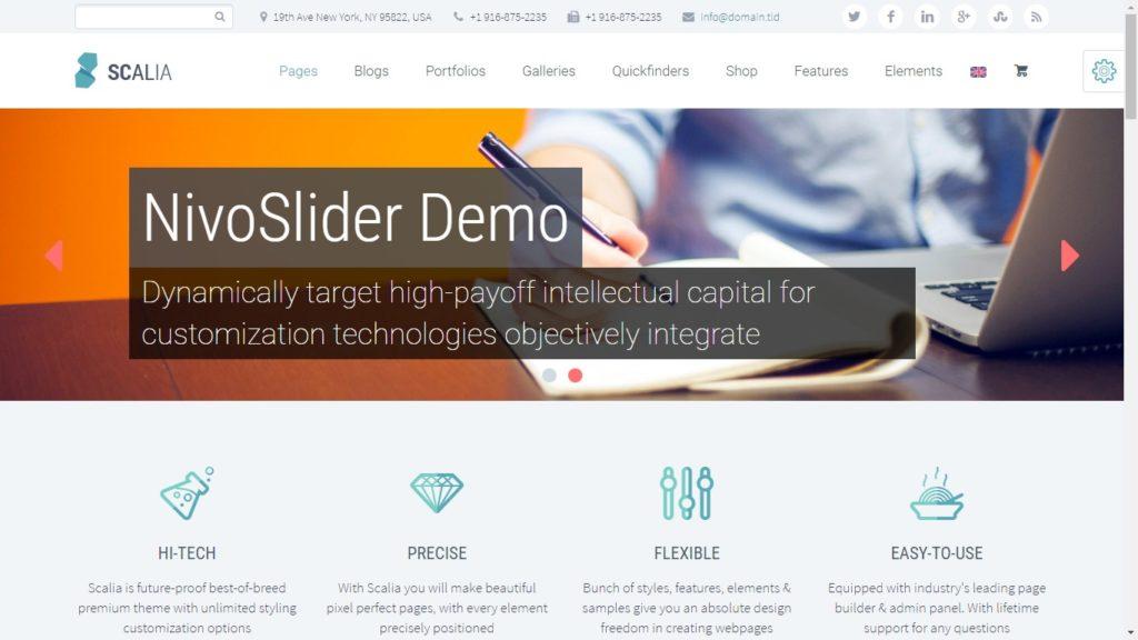 Scalia Corporate WordPress Theme