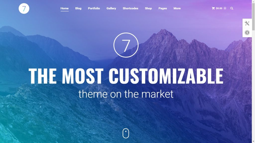 The7 Corporate WordPress Theme