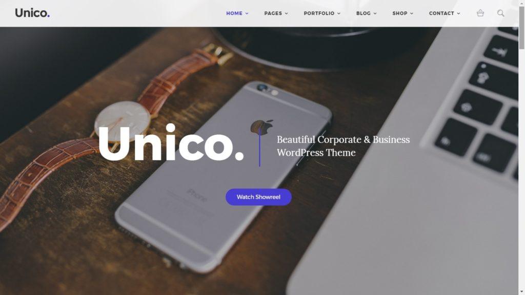 Unico WordPress Theme